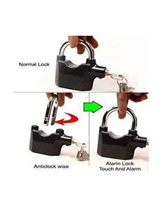 Amextrian Anti Theft Motion Sensor Alarm Security Lock for Home, Office and Bikes