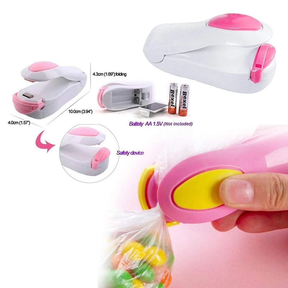 AMEXTRIAN Hand Held Heat Sealer Super Sealer Mini Sealing Machine
