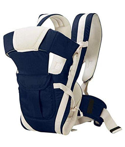 4-in-1 Adjustable Baby Carrier with Safety Belt and Comfortable Head Support Front and Back Carrier Baby/Kids