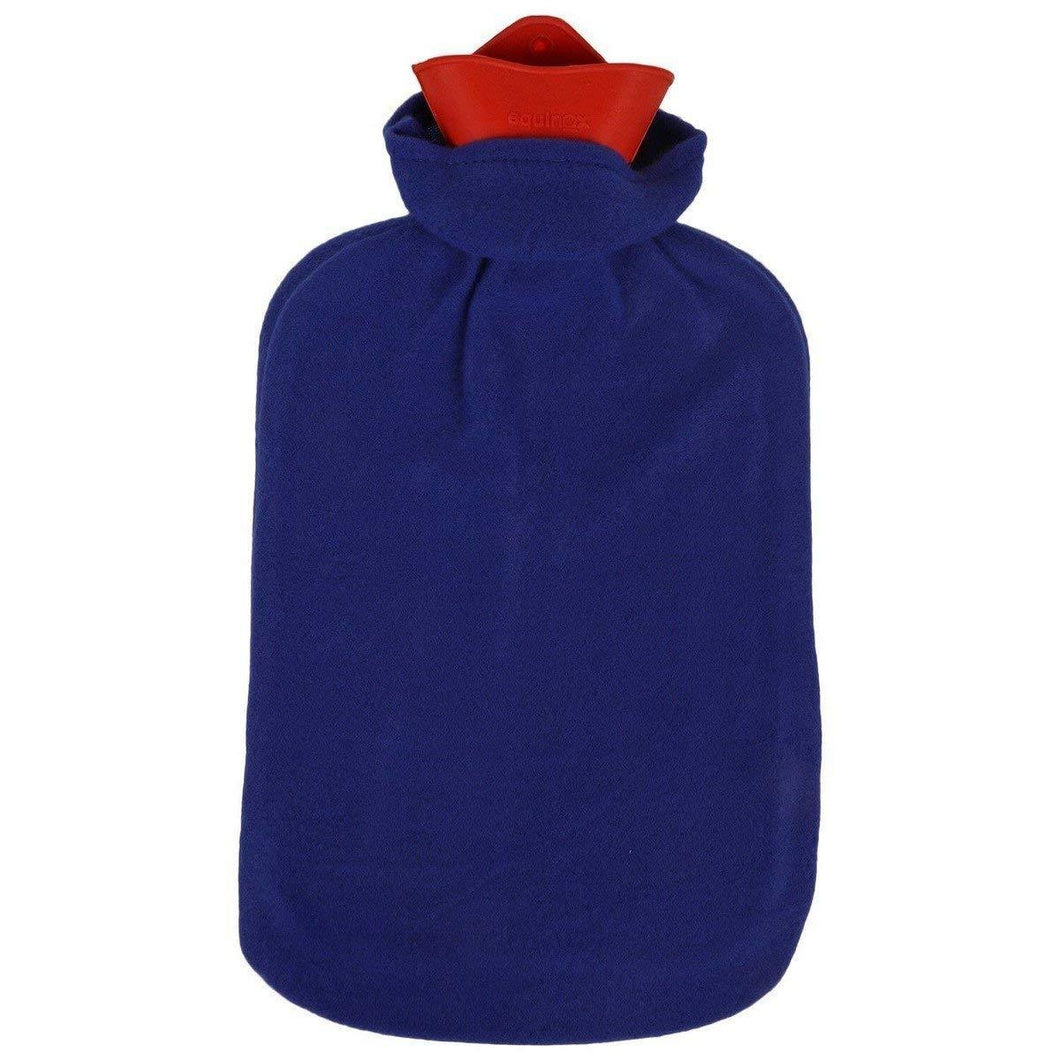 Classic Rubber Hot Water Bottle with Cover