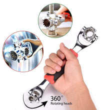 Load image into Gallery viewer, Amextrian Universal Wrench 48 in 1 Socket Wrench Multifunction Wrench Tool with 360 Degree Rotating Head, Spanner Tool for Home and Car Repair