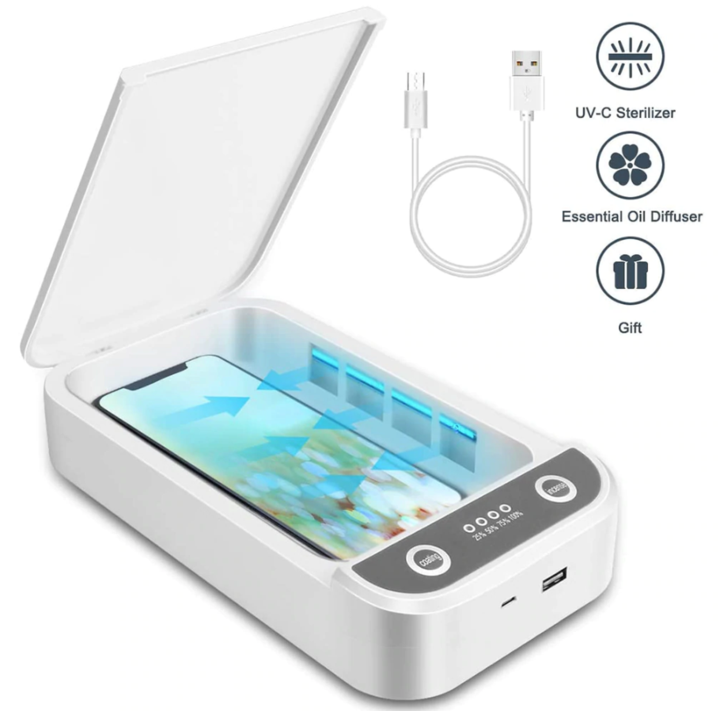 Portable UV Sterilizer Box with Charger