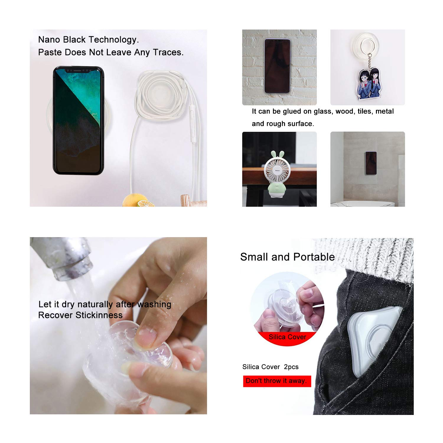 Amextrian Nano Gel Pad Traceless Magic Stickers (BUY 2 GET 15 OFF)