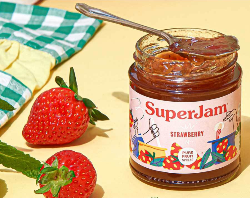 SuperJam Strawberry 212g