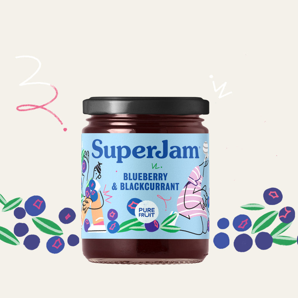 SuperJam Blueberry & Blackcurrant