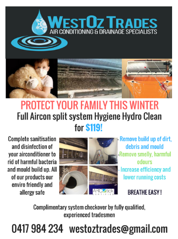Hygiene Hydro Clean For Wall Split System