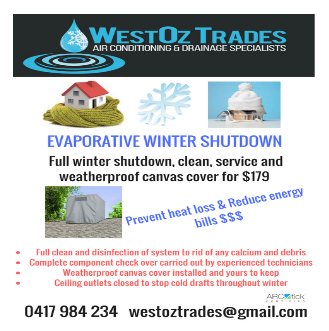 Winter Evaporative Shutdown Service