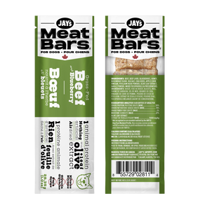 Grass-Fed Beef and Blueberry Meat Bar