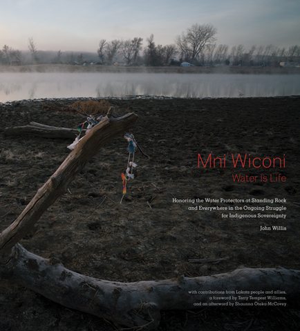 Mni Wiconi / Water Is Life: Honoring the Water Protectors at Standing Rock and Everywhere in the Ongoing Struggle for Indigenous Sovereignty • John Willis (signed)