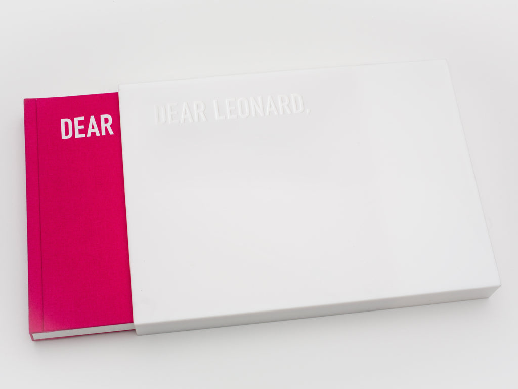 Dear Leonard, A Tribute to Leonard Cohen • Stuart Franklin