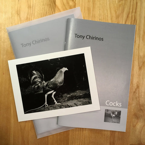 Cocks Limited Edition Zine • Tony Chirinos SIGNED