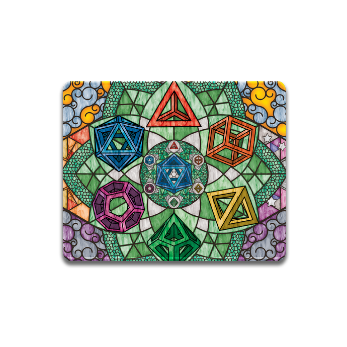 Sacred Dice Mouse Pad