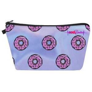 Donut makeup pouch.