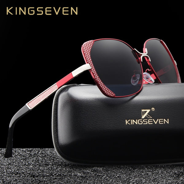KINGSEVEN Brand Design Luxury Polarized Sunglasses Women