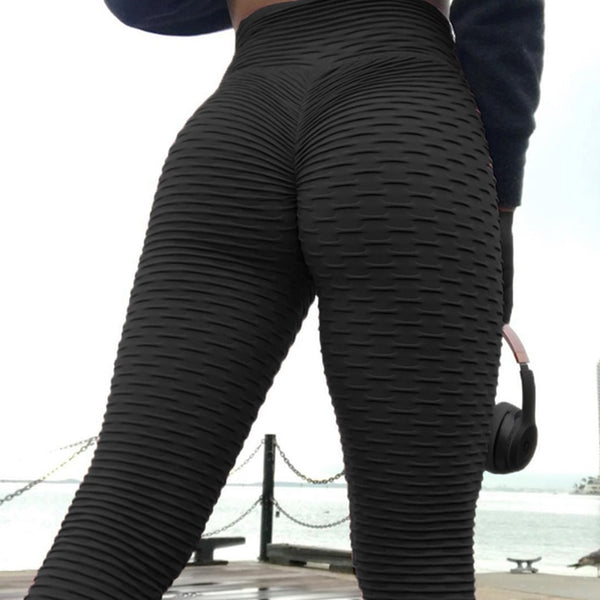Calf Length Anti-Cellulite Leggings Women