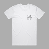 Sad Person Club White Tee
