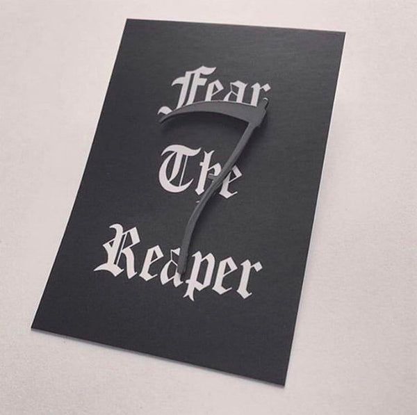 Fear The Reaper Pin