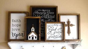 Bible verse decor - The Inspirited Home