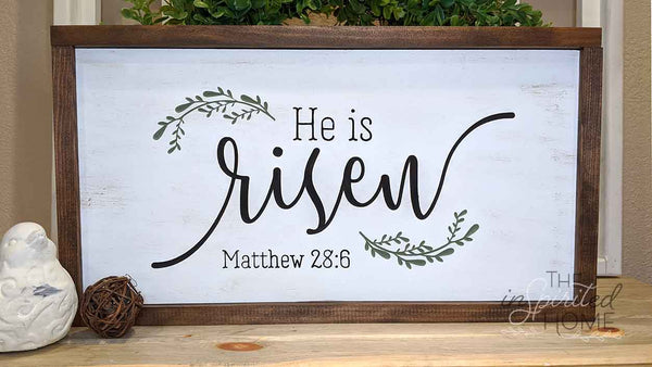 Easter Home Decor Sign