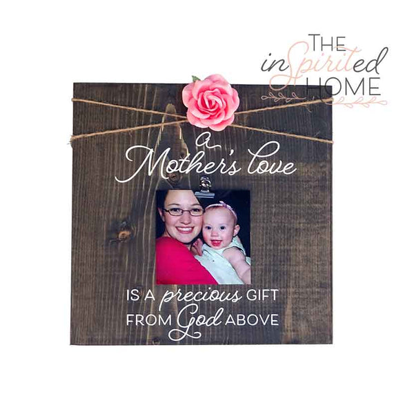 A Mother's Love - Wooden Plaque