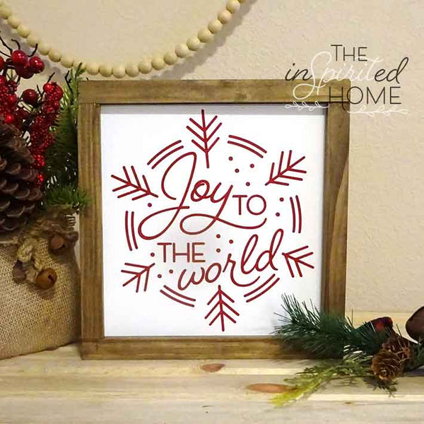 Joy to the World - Hymn Wall Sign