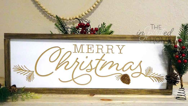 Merry Christmas - Christmas Wall Art