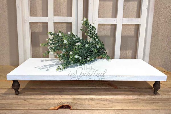 Wooden Rustic Distressed Riser