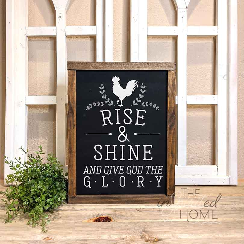 Rise and Shine - Wood Wall Decor