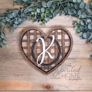 Heart Tobacco Basket Decor