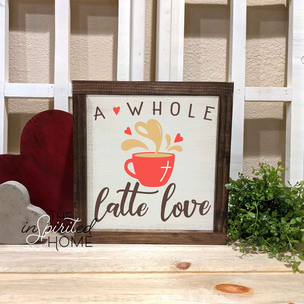 Valentine's Wooden Sign - The Inspirited Home