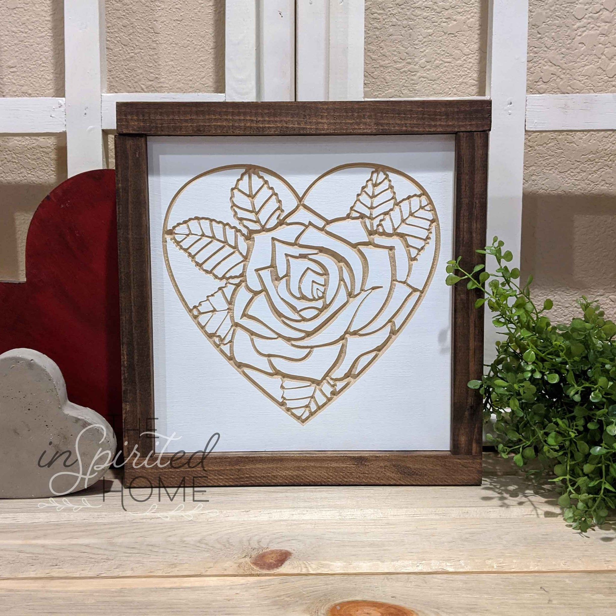 Heart Wood Decor - The Inspirited Home