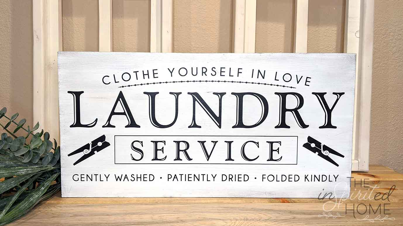 Laundry Room Sign