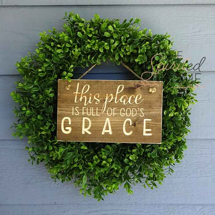 Entryway Porch Sign - The Inspirited Home