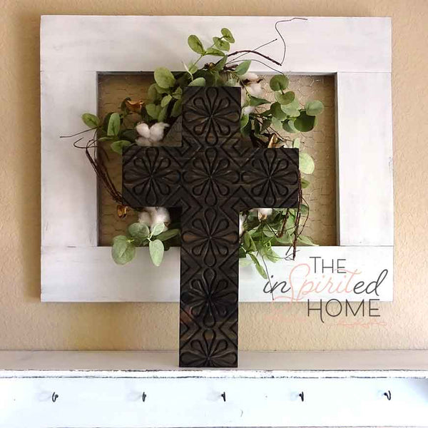 Wood Cross Wall Decor