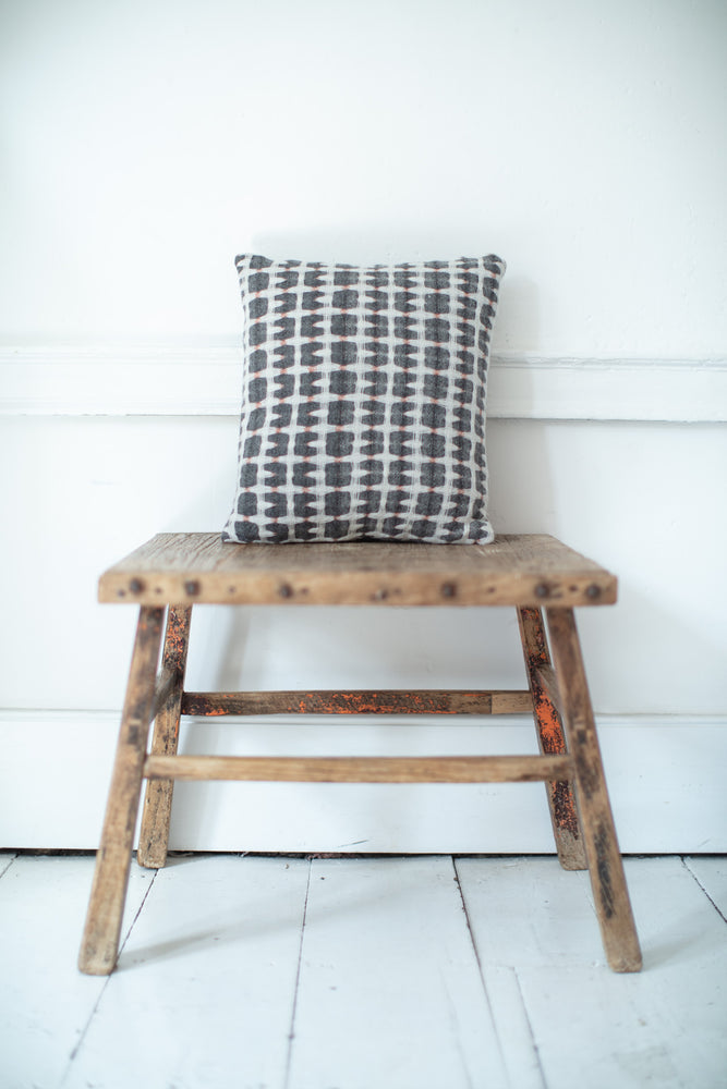 ASH DOUBLECLOTH CUSHION