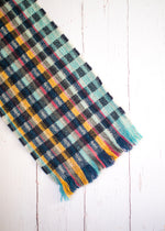 CUT SELVEDGE LAMBSWOOL SCARF