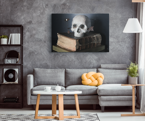 """A Pirates Log Book"" Original Art Canvas Wrap"