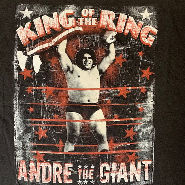 Vintage Andre The Giant Tee Black L