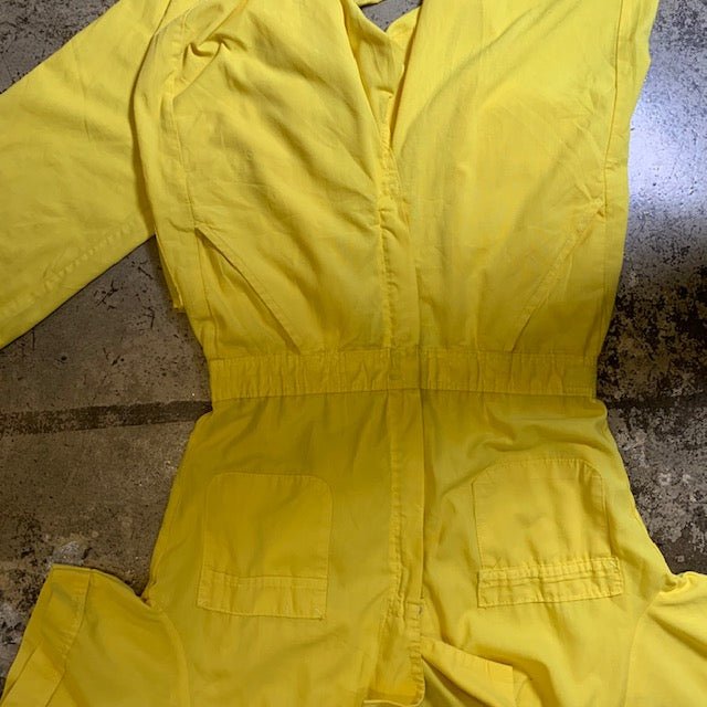 Vintage Boiler Suit Yellow S