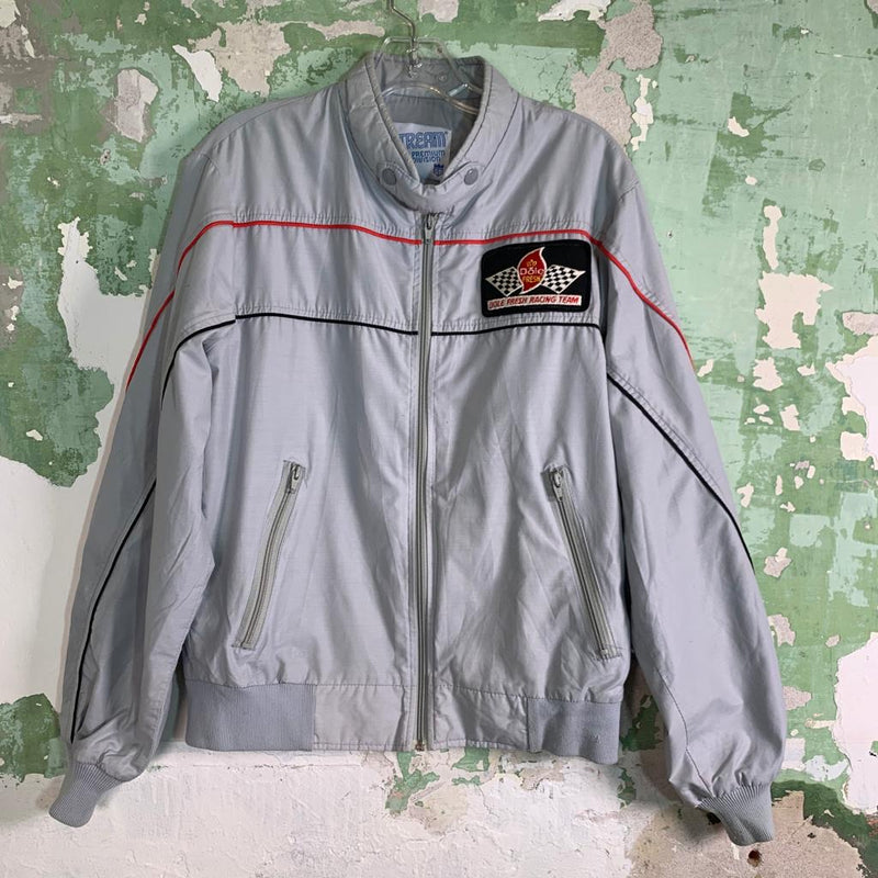 Vintage 80s Lightweight Racing Nylon Spray Jacket M