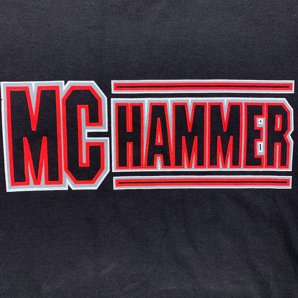Vintage MC Hammer 90s Concert Band Tee XL