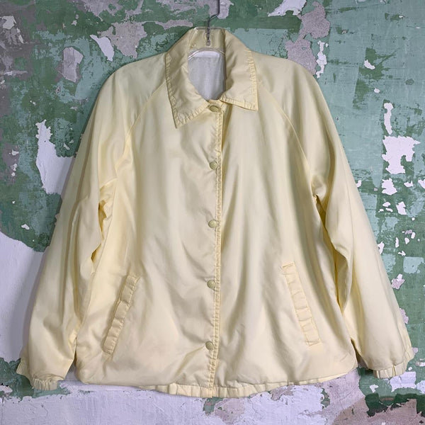 Vintage 80s Lightweight Lined Spray Jacket M