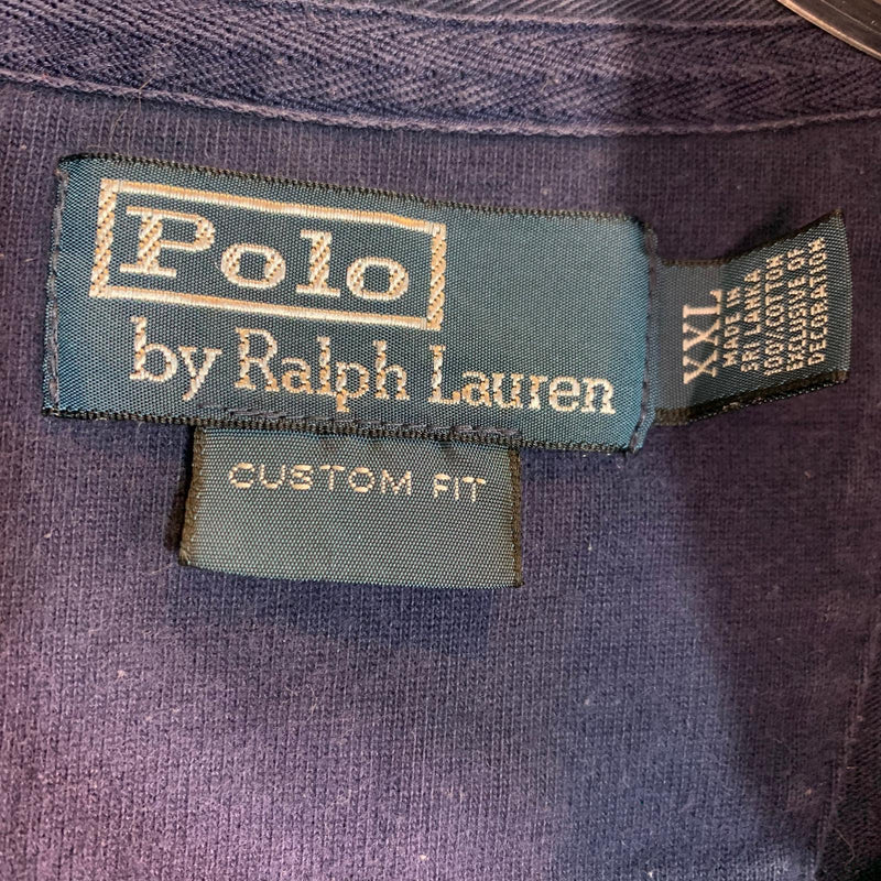 Vintage Oversized Polo Ralph Lauren Long Sleeve Polo Jumper XXL 2XL