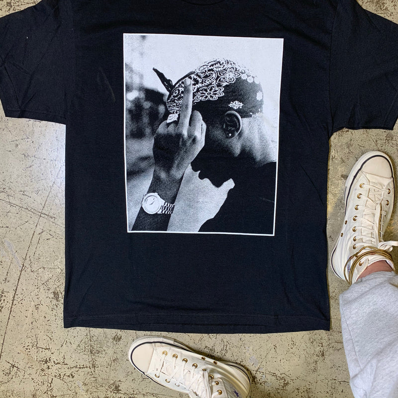 2Pac Tee Black XL