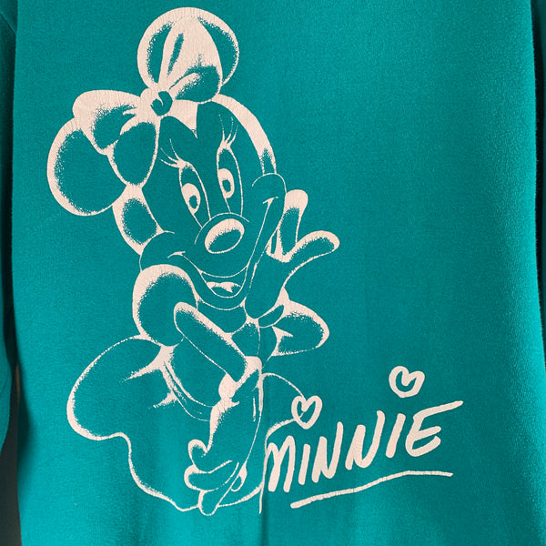 Vintage 80s Disney Minnie Crew Neck M