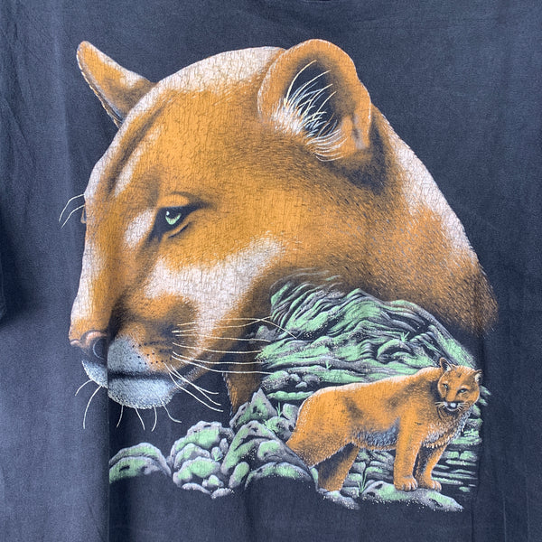 Vintage 80's Mountain Lion Tee L