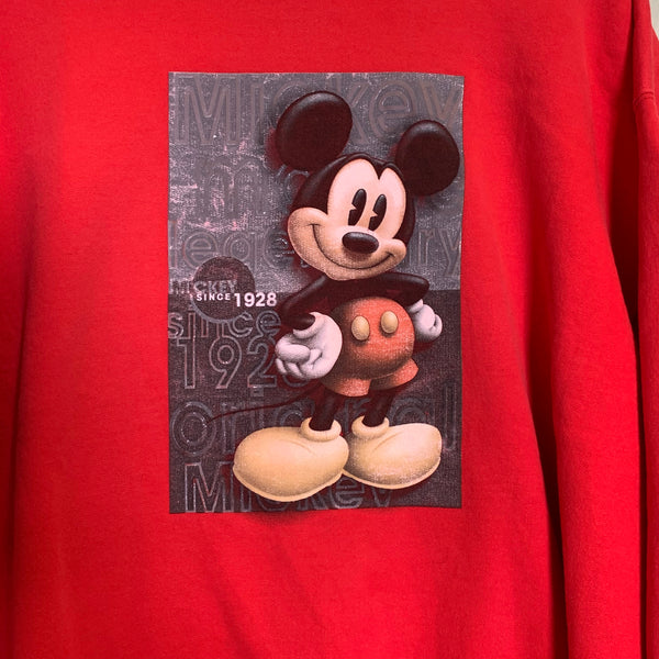 Vintage Mickey Mouse Crew Neck Jumper L