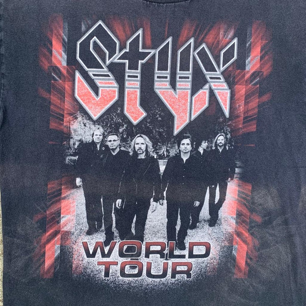 Vintage Styx Concert Band Tee M