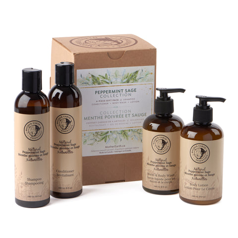 Peppermint Sage Collection<br>by Mother Earth Essentials