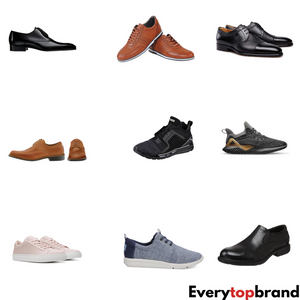 10KG Wholesale Second Hand Used Men's Shoes A Grade £4.50 Per KG - Everytopbrand.com